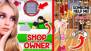 You Wont Believe WHO This SHOP OWNER Is In Adopt Me.. (Roblox)