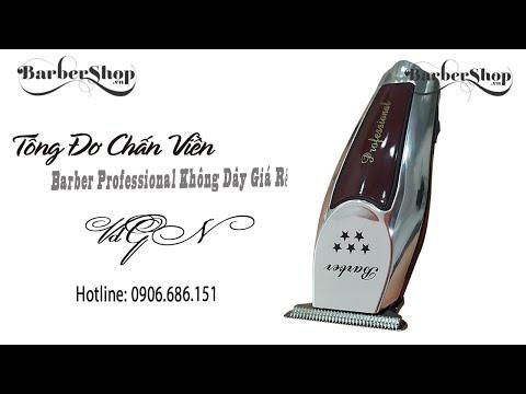 Tông Đơ viền Barber Professional Không Dây Giá Rẻ