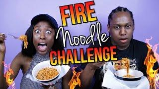 Fire Noodle Challange! Spicy Korean Ramen | 외국인들의 불닭볶음면 도전