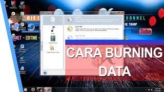 Cara Burning data menggunakan Nero