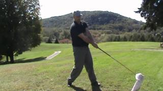 Lag Rag Golf Training: Stay Behind the Ball - best golf training aid