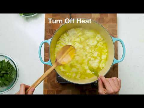 Pesto Soup