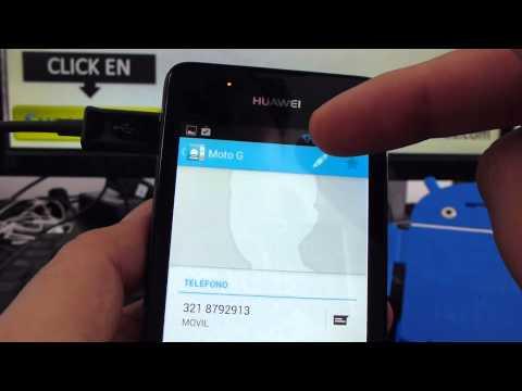 Como Agregar Contacto En Whatsapp Huawei Ascend Y300 Comoconfigurar