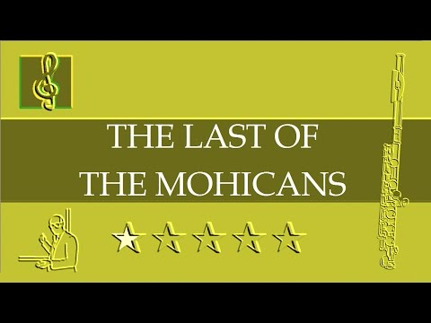 Flute Notes Tutorial - Promentory - The Last of the Mohicans Theme (Sheet Music)