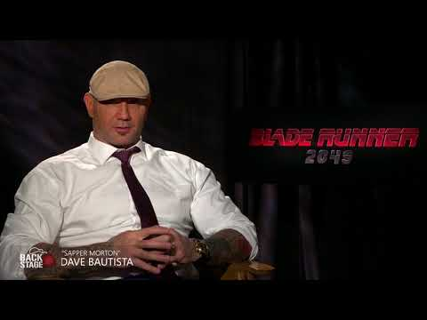 Dave Bautista Is A Lover Not A Fighter | BLADE RUNNER 2049 Interview