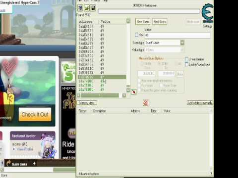 Gaia Online Cheat With Cheat Engine!! :)
