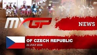 NEWS Highlights - MXGP of Czech Republic 2018