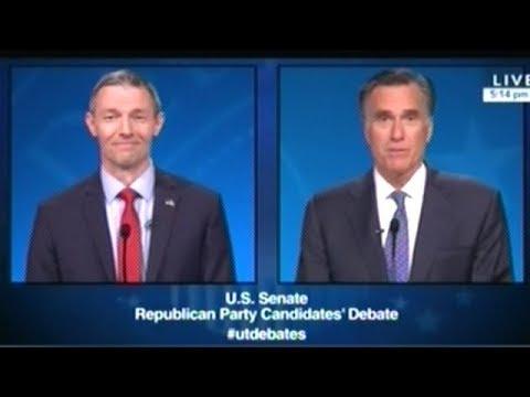 MITT ROMNEY vs MIKE KENNEDY In Utah U.S. Senate Primary Debate