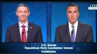MITT ROMNEY vs MIKE KENNEDY In Utah U.S. Senate Primary Debate