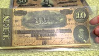Confederate Currency and Shoutout