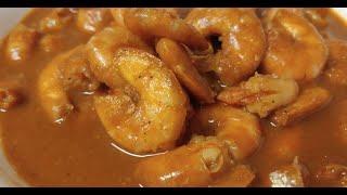 Prawns Hot and Sour curry/ Sungat Ambot Theek/ Sungat Jeeren Meeren