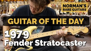 Download lagu Guitar of the Day: 1979 Fender Stratocaster Blonde | Norman's Rare Guitars