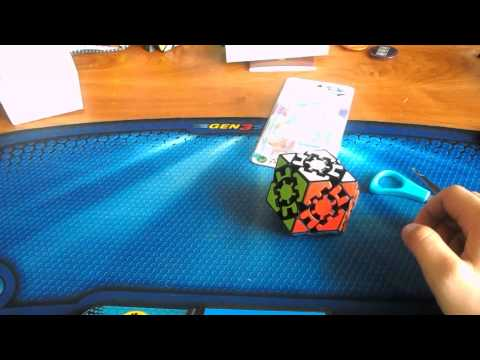 Unboxing Gear Rhombic Dodecahedron