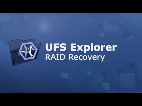 UFS Explorer RAID Recovery - presentation