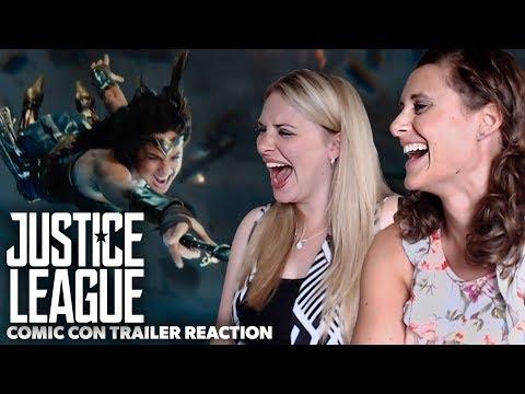 Justice League GIRLS Trailer Reaction: Comic Con Trailer