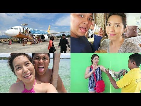 DAY 1 in PALAWAN! Eating Crocodile, City Tour, Sandbar (May 6, 2016) - saytioco