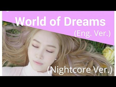 Jessica - World of Dreams (English Ver.) ~Nightcore Ver.~