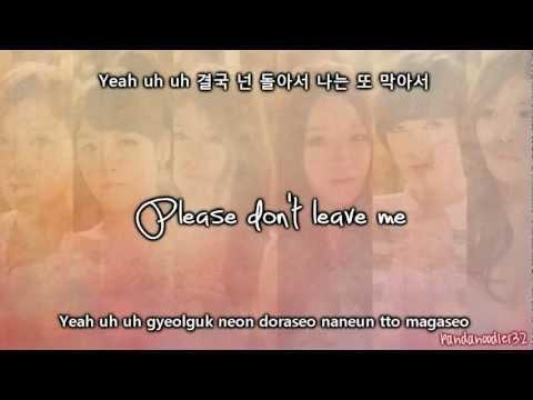 Davichi & T-ara- We Were In Love [ENG/ROM/HAN] Lyrics