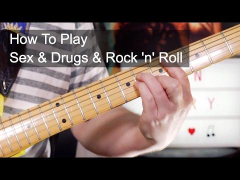 'Sex & Drugs & Rock 'n' Roll' Ian Dury Guitar Lesson