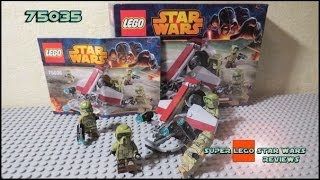 Lego Star Wars 75035 Kashyyyk Troopers Battle Pack Review