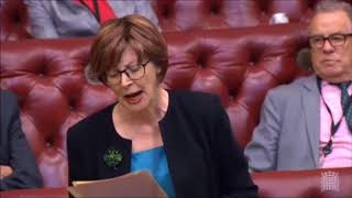 Baroness Hollis calmly tears apart the Govt over Universal Credit
