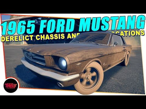 Need For Speed Payback Derelict Cars 1965 Ford Mustang Chassis