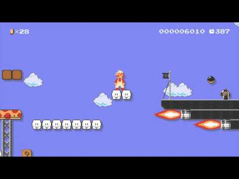 Super Mario Maker - Your Maps - HURRY UP