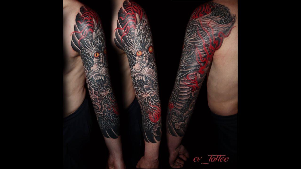 фото татуировок рукава