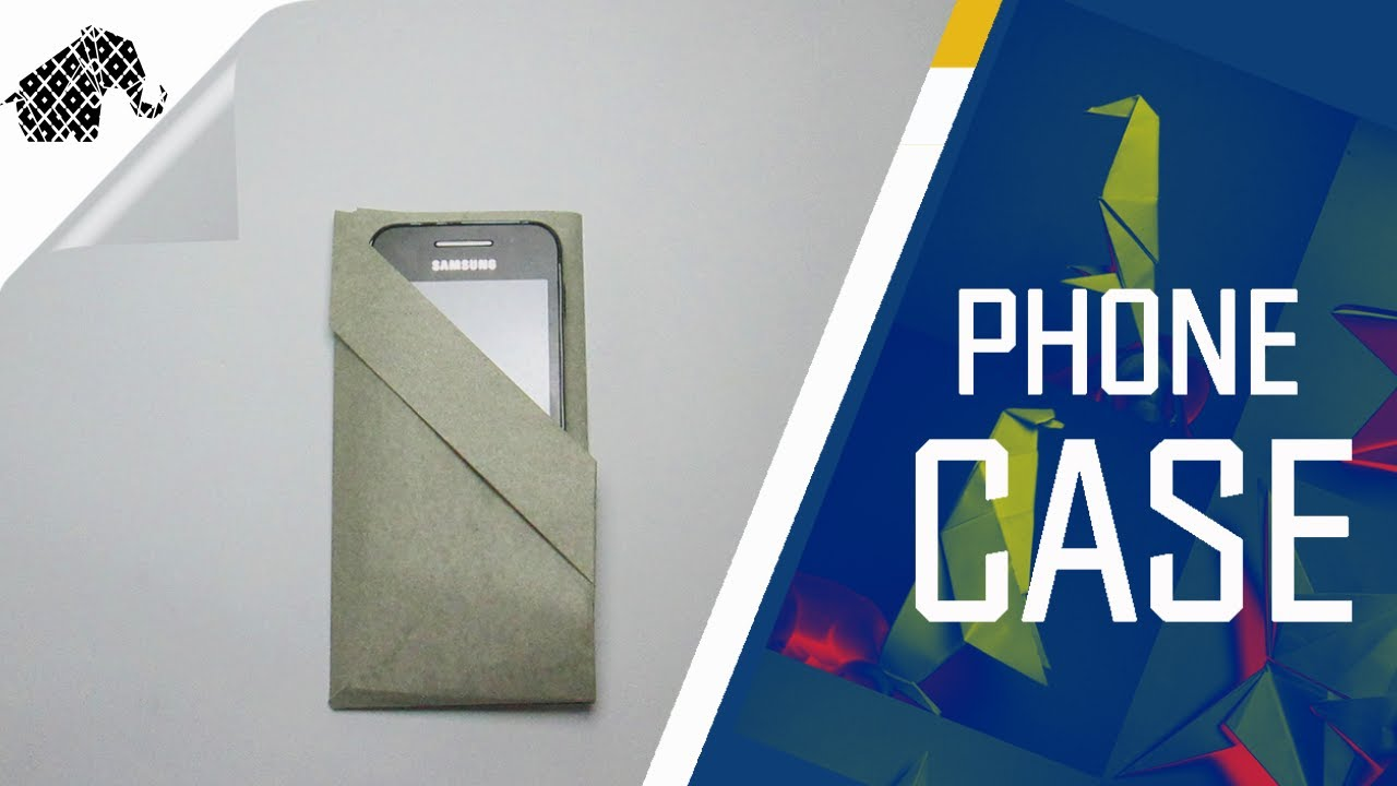 origami how to make an origami phone casepouch youtube