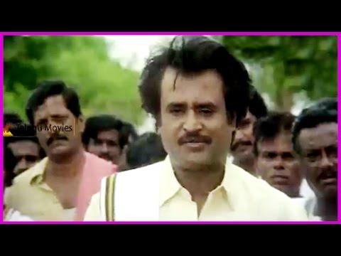 Rajinikanth Extraordinary Dialogues || In Rowdy Jamindar Telugu Movie