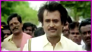 Rajinikanth Extraordinary Dialogues || In Rowdy Jamindar Telugu Movie