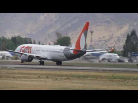 Gol Linhas Aereas Inteligentes Boeing 737-8EH PR-GUK  GOL7663 To SBGR