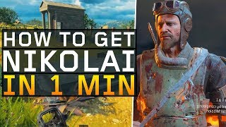 How to Unlock Nikolai in 1 minute! (Black Ops 4: Blackout)