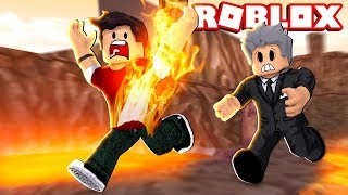 ROBLOX-MY FATHER CAUGHT FIRE! (Ripull Minigames)