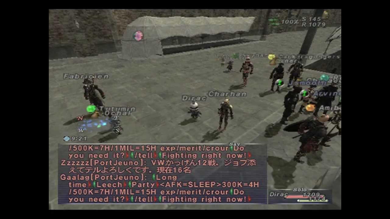 Final Fantasy 11 On Playstation 2 June 2012 Ffxi