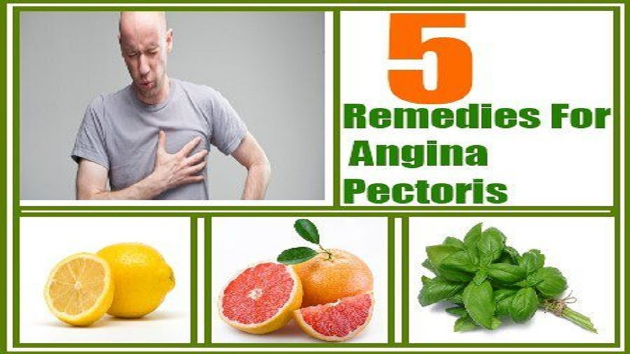 How to quickly cure angina