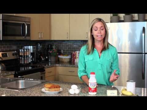Nurtition Facts for a Low-Fat Blueberry Muffin : Fresh Kitchen