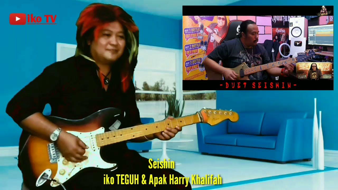 Seishin - iko TEGUH & Apak Harry Khalifah | Guitar Challenge | Battle SeishiN