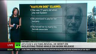 Warning! Sickening details of Epstein's victims made public