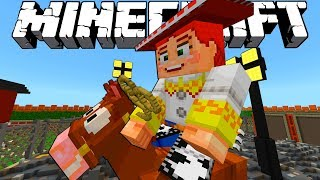 MINECRAFT TOY STORY ADVENTURES | JESSIE IN THE JUNKYARD | Minecraft Xbox