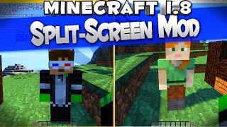 [1.8] Minecraft Split Screen Mod Spotlight