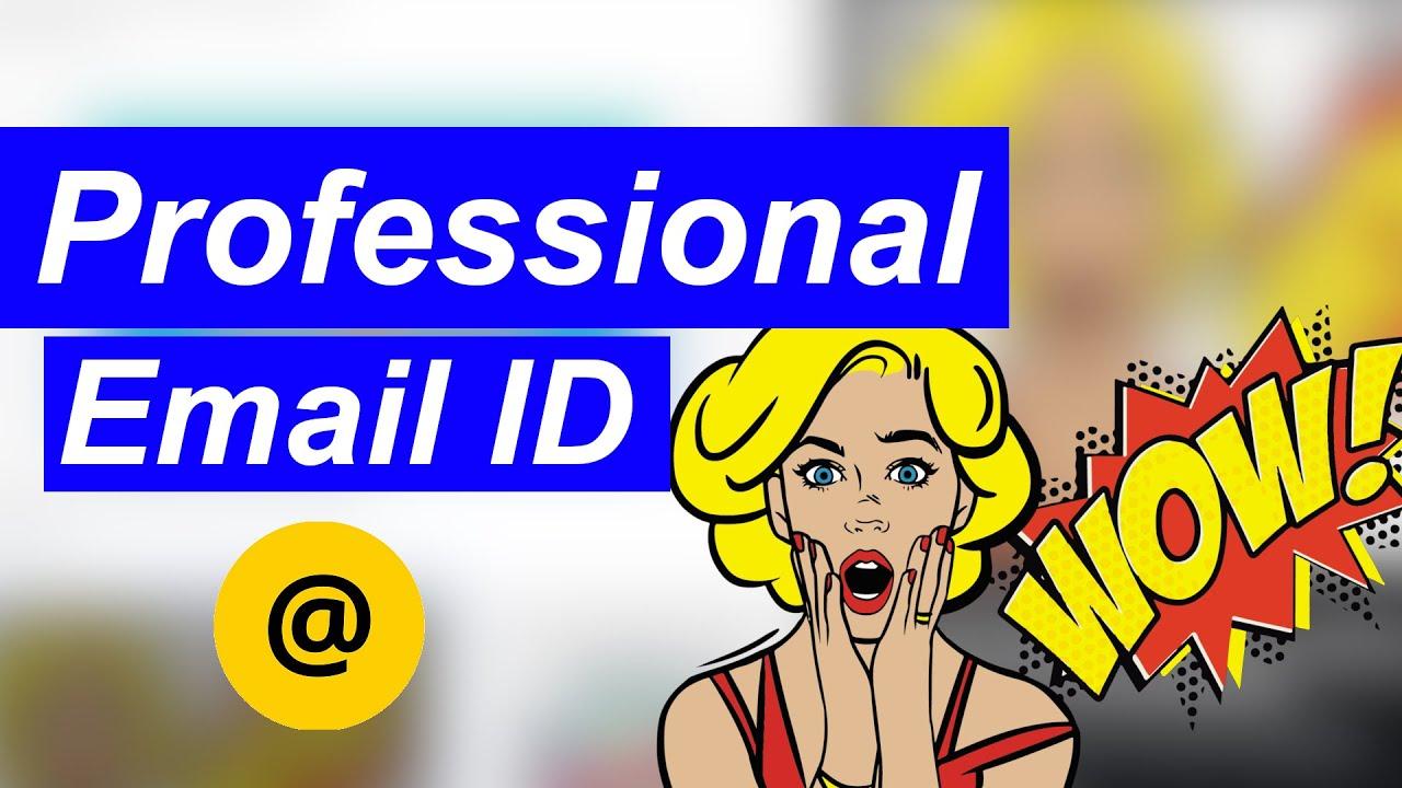 Professional Email Se Fayde Jarur Jane.