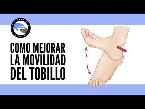 ¿Por que la movilidad del tobillo es tan importante? ejercicios para mejorarla