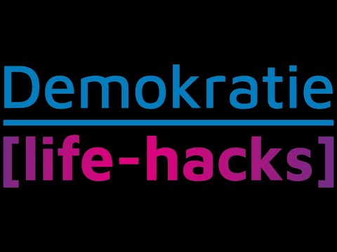 Demokratie - life-hacks -