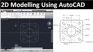 2d Drawing Using Autocad : Drawing 3