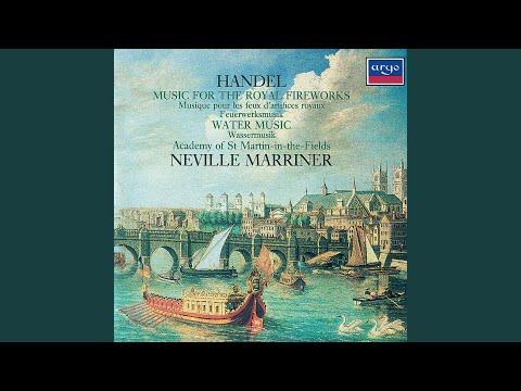 Handel: Water Music Suite - Water Music Suite in F Major - Gavotte