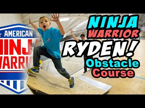 RYDEN: 5 YEAR OLD NINJA WARRIOR