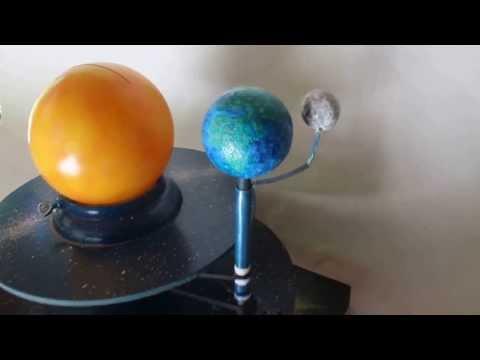 Sistema Solar com movimento