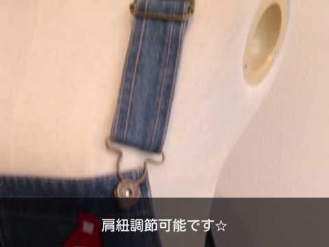 【GOLDJAPAN 大きいサイズ専門店】ワッペン付きデニムショートサロペットスカート LL-4L