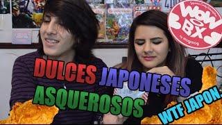 Dulces de POLLO FRITO Y MAIZ?! - Dulces japoneses 3 [WoWBOX]